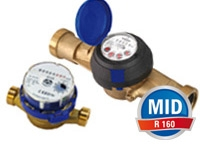 Vane-wheel water meters to R160