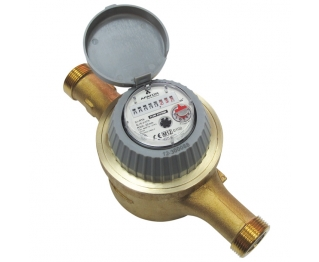 Volumetric dry water meter for cold water DN15, DN20, DN25
