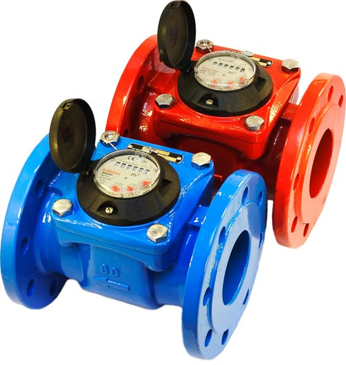 Propeller Water Meters Woltman With Horizontal Rotor Axis Mwn Mwn 130 Nk Dn40 500 Apator
